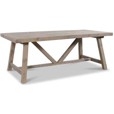 Canada matbord 200 cm - Gråbetsad furu