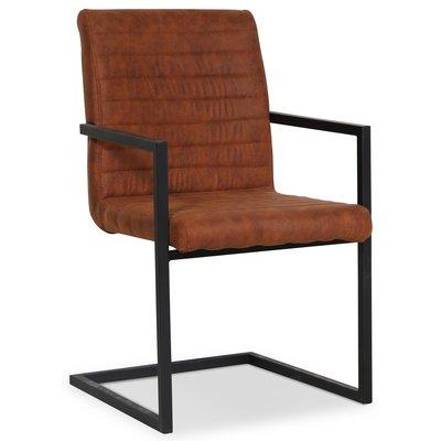 Oliver matstol - Vintage brun