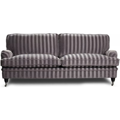 Howard Sir William 3-sits soffa (Dun) - Mobus Silver Stripe