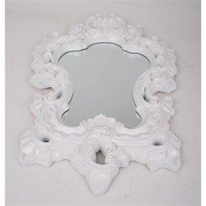 Spegel Romantisk 75 cm - Vit