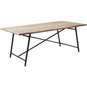 Tessa matbord - Trä/svart