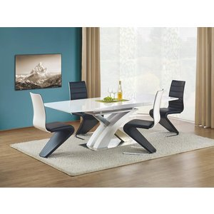 Bonita matbord 160-220 cm - Vit