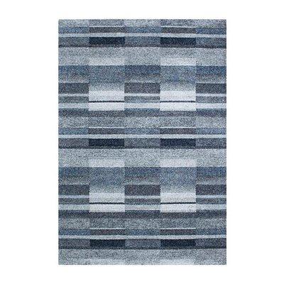 Maskinvävd matta Gunilla - Blå