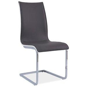 Anaya stol - Grå/vit
