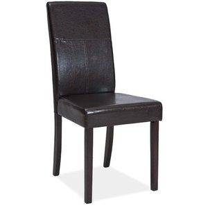 Stol Bycast l venge/mörkbrun