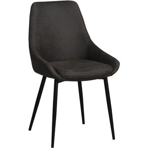 Jada stol - Mörkgrå/svart