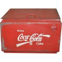 Coca Cola vintage förvaringsbox - Metall