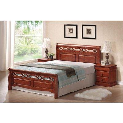 Säng Zephyrhills 160x200 cm - Antik körsbär