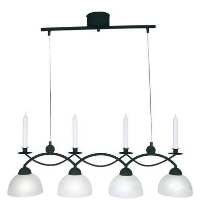 Florens taklampa - Svart/vit
