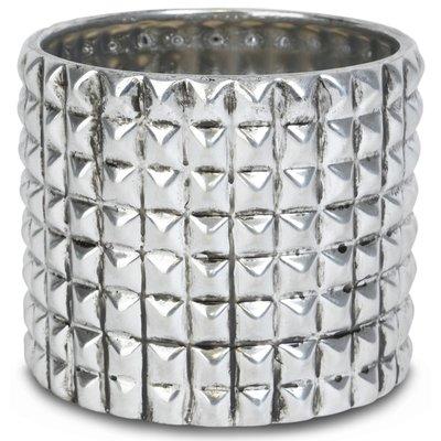 Kruka Nitar H16 cm - Silver