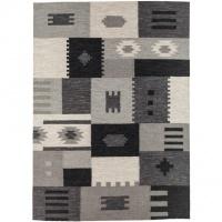 Handvävd matta - Lissabon - Patchwork mönster