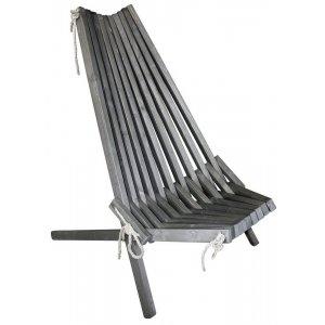 Calcutta stol - Grålaserad