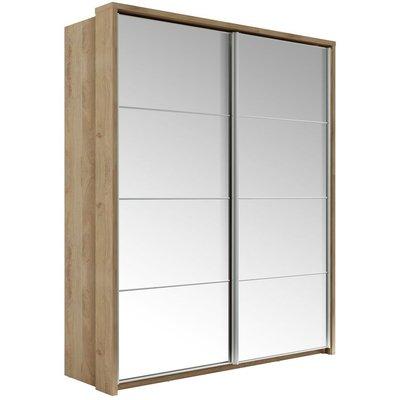 Mervyn garderob med speglar - Shetland ek