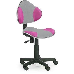 Jaidyn skrivbordsstol - Grå/lila