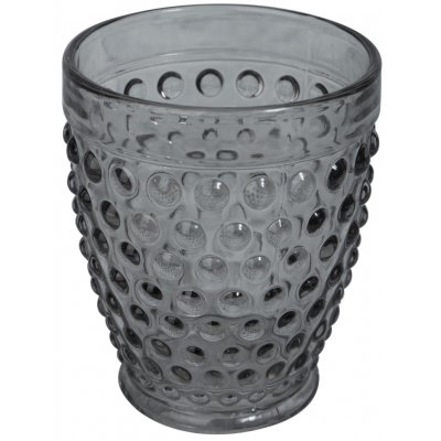 Bubbel drinkglas (rökfärgat glas) 300ml - 6-pack
