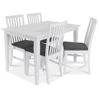 Sandhamn matgrupp 140 cm bord med 4 sandhamn stolar