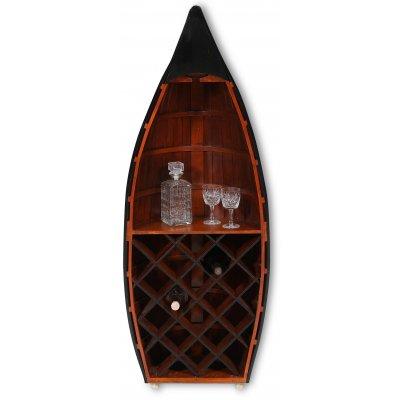 Old Sailor vinställ av en Båt - Marint