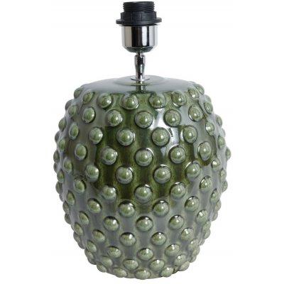 Bouble lampfot H37 cm - Grön (Glansig)