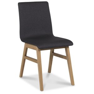 Molly stol - Grå/Oljad ek