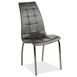 Stol Skokie grå