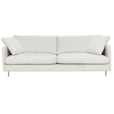 Kålsered 3-sits rak soffa - Valfri klädsel