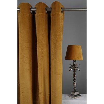 Velvet Gardinpar 240x140 cm - Lejongul