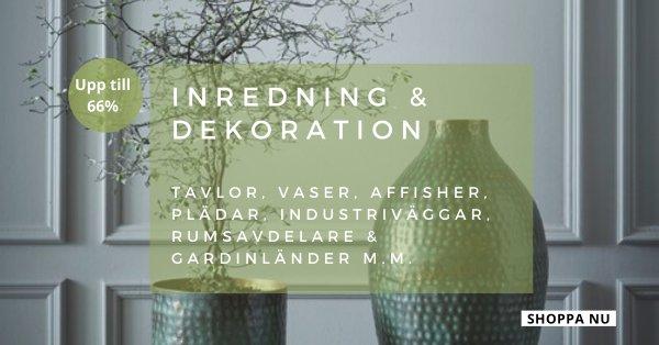 Inredning & dekorationer - Spara upp till 77%