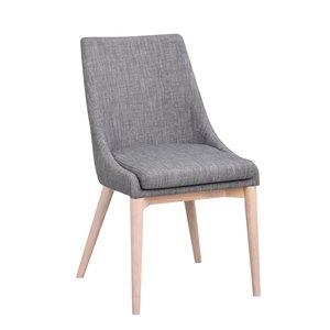 Bethan stol - Mörkgrå/whitewash