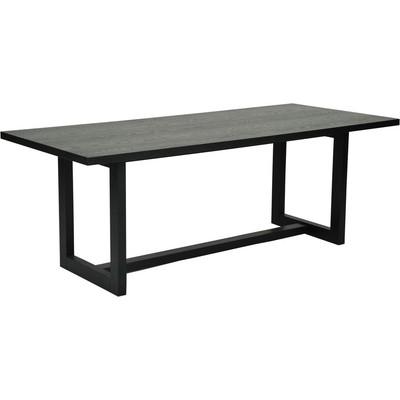Pascola matbord 210 cm - Svartbetsad