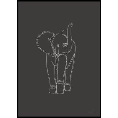 DIGITAL ELEPHANT - Poster 50x70 cm