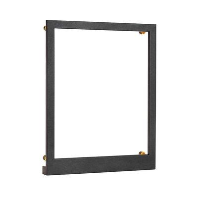 Frame vägglampa 41x33 cm - Svart