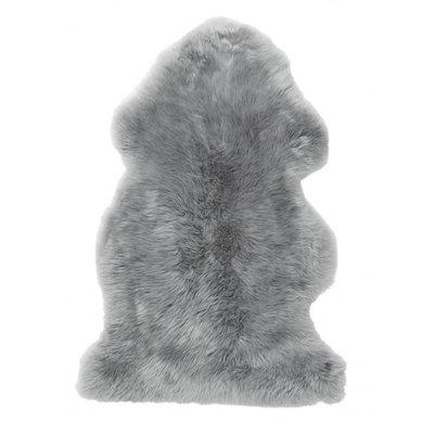 Gently långhårigt fårskinn - Ljusgrå