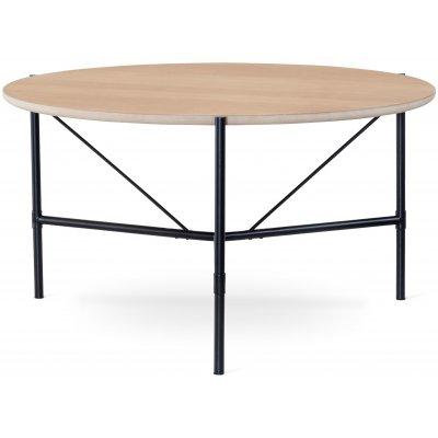 Torkelson Alè matbord Ø135 cm - Vitoljad ek