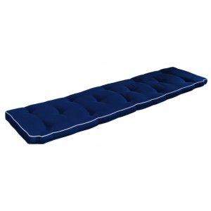 Excellent sittdyna 195*52 cm - Blå