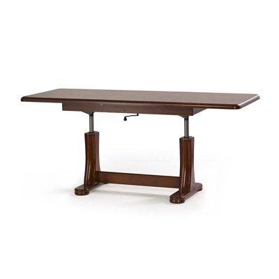 Sidö höj och sänkbart soffbord - Kastanjebrun