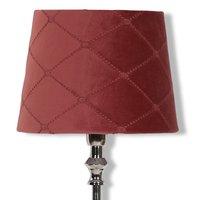 Velvet Diamond lampskärm 20 cm - Rose