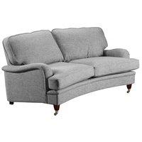 Howard Luxor svängd 3-sits soffa 195 cm - Valfri färg!