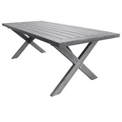 Matbord Oxford 220 cm - Grå