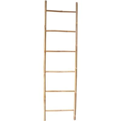 Väggdekor stege - Bambu