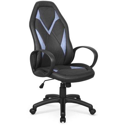 Gary kontorsstol - Svart/blå