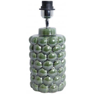 Big Bouble lampfot H32 cm - Grön