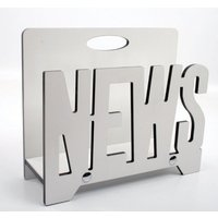 Tidningsställ News - Vit