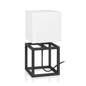 Cube bordslampa 34 cm - Svart/vit