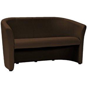 Charity 3-sits soffa - Mörkbrun