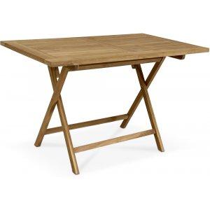 Saltö vikbart bord i teak - 140x80 cm