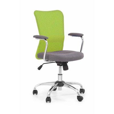 Marissa skrivbordsstol - Grå/limegrön