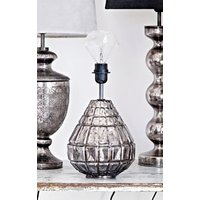 Bordslampa silver light 34