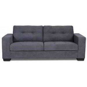 Friday 3-sits soffa - Grå Chenille