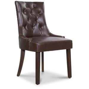 Tuva New Port stol med handtag - Vintage PU