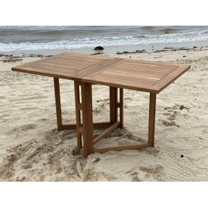 Saltö klaffbord 140 cm - Teak